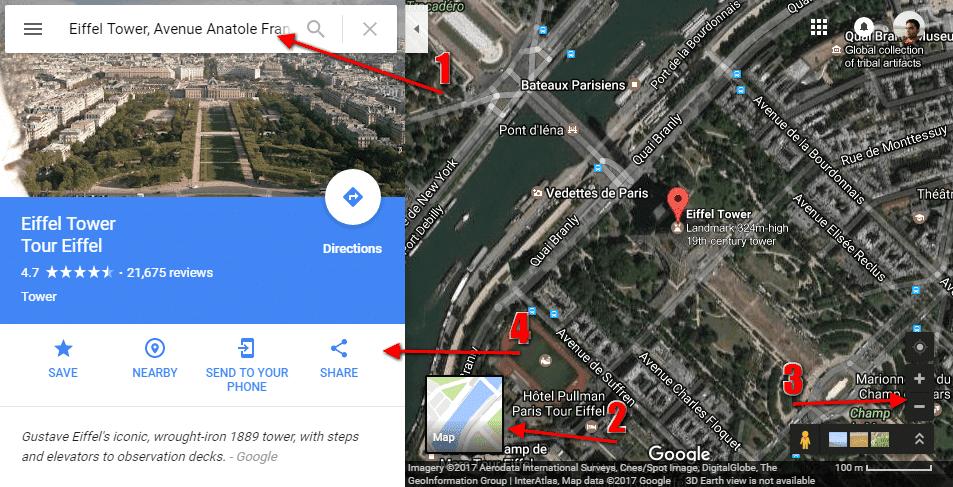 Embed Google Map