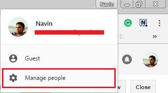 Google Manage People
