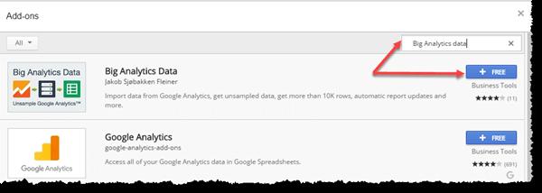 Google Sheet Addons
