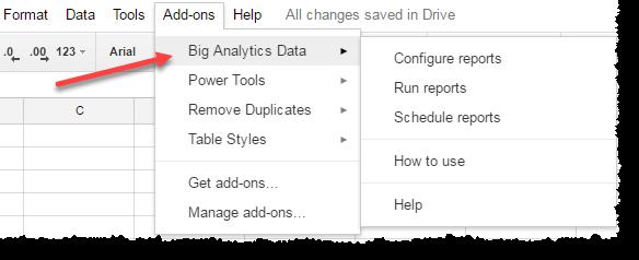 Installl Google Sheet Addons