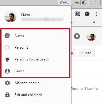 Manage Multiple Google Accounts