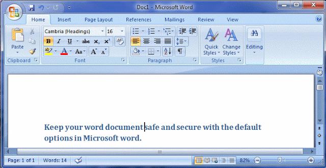Microsoft Word Document